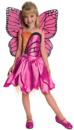 コスプレ衣装 コスチューム バービー人形 886744S 【送料無料】Barbie Fairytopia Mariposa and Her Butterfly Fairy Friends Deluxe Mariposa Costume, Smallコスプレ衣装 コスチューム バービー人形 886744S
