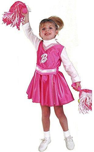 コスプレ衣装 コスチューム バービー人形 Childs Cheerleader Barbie Costume (Sz:Medium 8-10)コスプレ衣装 コスチューム バービー人形