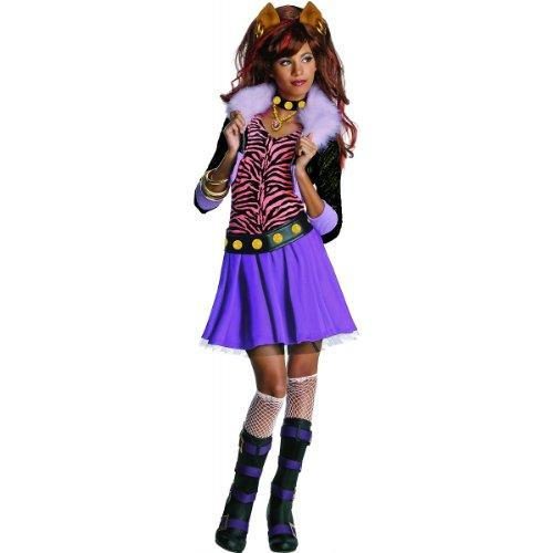 モンスターハイ 衣装 コスチューム コスプレ Clawdeen Wolf Costume - Smallモンスターハイ 衣装 コスチューム コスプレ