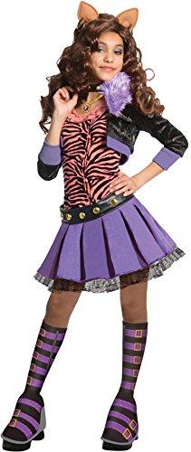 モンスターハイ 衣装 コスチューム コスプレ 884902LG Deluxe Clawdeen Wolf Child Costume - Mediumモンスターハイ 衣装 コスチューム コスプレ 884902LG
