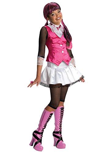 モンスターハイ 衣装 コスチューム コスプレ 884787LG 【送料無料】Girls Mh Draculaura Kids Child Fancy Dress Party Halloween Costume, S (4-6)モンスターハイ 衣装 コスチューム コスプレ 884787LG