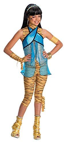 モンスターハイ 衣装 コスチューム コスプレ 884790LG 【送料無料】Cleo De Nile Kids Costume - Mediumモンスターハイ 衣装 コスチューム コスプレ 884790LG