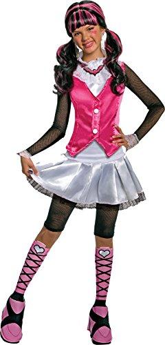 モンスターハイ 衣装 コスチューム コスプレ 884901LG Girls Mh Draculaura Deluxe Kids Child Fancy Dress Party Halloween Costume, M (8-10)モンスターハイ 衣装 コスチューム コスプレ 884901LG