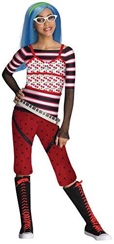モンスターハイ 衣装 コスチューム コスプレ 881361LG 【送料無料】Rubie's Girls Mh Ghoulia Yelps Kids Child Fancy Dress Party Halloween Costume, L (12-14)モンスターハイ 衣装 コスチューム コスプレ 881361LG