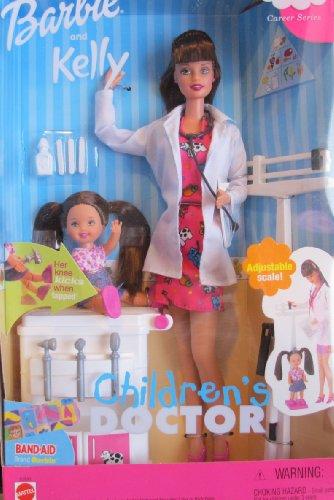 バービー バービー人形 バービーキャリア バービーアイキャンビー 職業 52893 Barbie & Kelly Children's Doctorバービー バービー人形 バービーキャリア バービーアイキャンビー 職業 52893