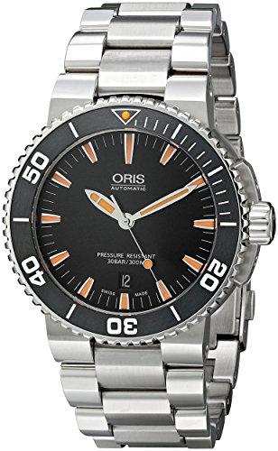 """オリス 腕時計 メンズ 73376534159MB 【送料無料】Oris Men""""s 73376534159MB Divers Analog Display Swiss Automatic Silver Watchオリス 腕時計 メンズ 73376534159MB"""
