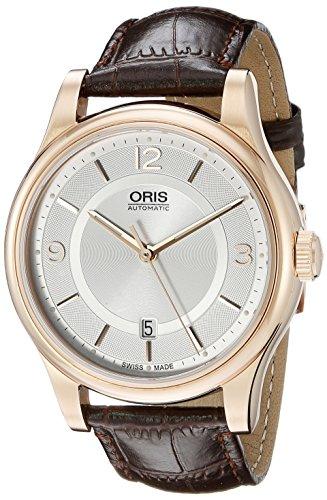 腕時計 オリス メンズ 733 7594 4831-07 6 20 12 【送料無料】Oris Classic Date Silver Dial Brown Leather Mens Watch 01 733 7594 4831-07 6 20 12腕時計 オリス メンズ 733 7594 4831-07 6 20 12