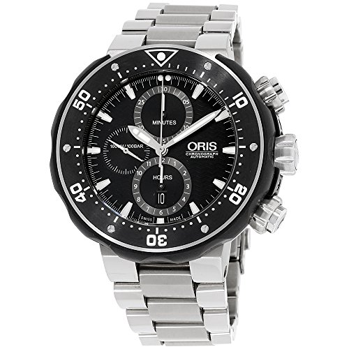 オリス 腕時計 メンズ 【送料無料】Oris Pro Diver Chronograph Mens Watch Kit 774 7683 7154 MBオリス 腕時計 メンズ