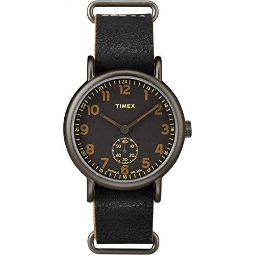 タイメックス 腕時計 メンズ TW2P86700 Timex Weekender Oversized | Black Multi-Dial & Leather Strap | TW2P97500タイメックス 腕時計 メンズ TW2P86700