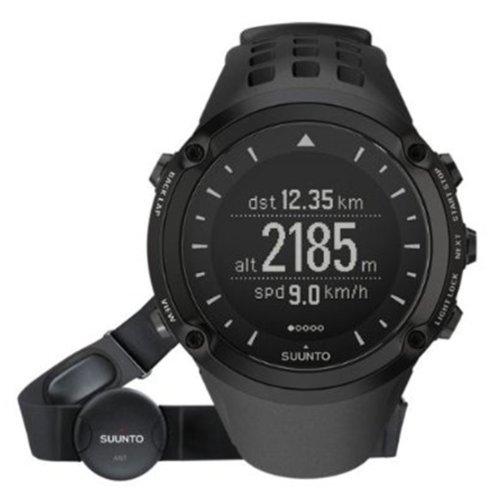 スント 腕時計 アウトドア メンズ ss018373000 SUUNTO Men's ss018373000 AMBIT 1 (HR) GPS/Heart Rate Sports Watch with Strap, Blackスント 腕時計 アウトドア メンズ ss018373000