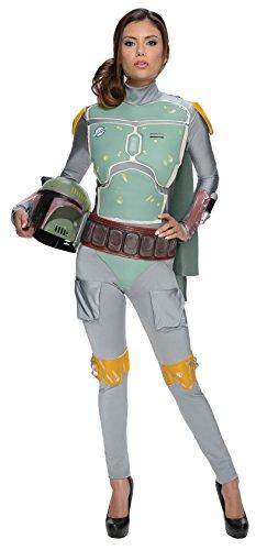コスプレ衣装 コスチューム スターウォーズ メンズ・レディース・キッズ 887595 【送料無料】Rubie's Women's Star Wars Boba Fett Deluxe Costume Jumpsuit, Multi, X-Smallコスプレ衣装 コスチューム スターウォーズ メンズ・レディース・キッズ 887595