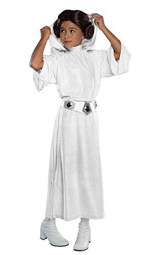 コスプレ衣装 コスチューム スターウォーズ メンズ・レディース・キッズ 610504 Rubie's Costume Star Wars Classic Princess Leia Deluxe Child Costume, Mediumコスプレ衣装 コスチューム スターウォーズ メンズ・レディース・キッズ 610504