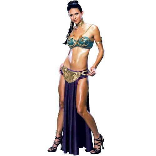 コスプレ衣装 コスチューム その他 【送料無料】Princess Leia Slave Adult Costume - X-Smallコスプレ衣装 コスチューム その他