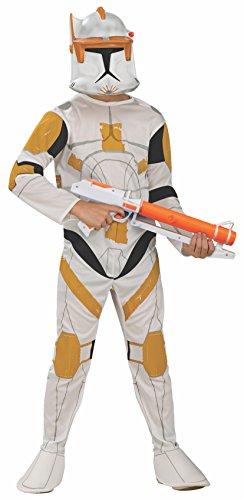 コスプレ衣装 コスチューム スターウォーズ メンズ・レディース・キッズ 883206M Rubies Star Wars Clone Wars Child's Clone Trooper Commander Cody Costume and Mask, Mediumコスプレ衣装 コスチューム スターウォーズ メンズ・レディース・キッズ 883206M