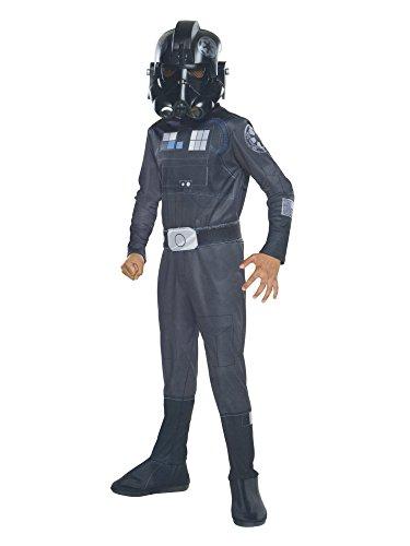 コスプレ衣装 コスチューム スターウォーズ メンズ・レディース・キッズ 610601_L 【送料無料】Rubie's Star Wars Rebels Tie Fighter Pilot Child Costume, Largeコスプレ衣装 コスチューム スターウォーズ メンズ・レディース・キッズ 610601_L