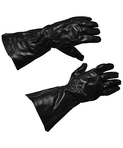 コスプレ衣装 コスチューム スターウォーズ メンズ・レディース・キッズ Rubie's Costume Co Adult's Darth Vader Gloves, Black, One Sizeコスプレ衣装 コスチューム スターウォーズ メンズ・レディース・キッズ