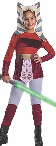 コスプレ衣装 コスチューム スターウォーズ メンズ・レディース・キッズ 883198L Star Wars Clone Wars Child's Ahsoka Costume, Largeコスプレ衣装 コスチューム スターウォーズ メンズ・レディース・キッズ 883198L