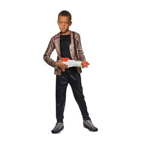コスプレ衣装 コスチューム スターウォーズ メンズ・レディース・キッズ Star Wars Deluxe Finn Costume Small 6 Blackコスプレ衣装 コスチューム スターウォーズ メンズ・レディース・キッズ