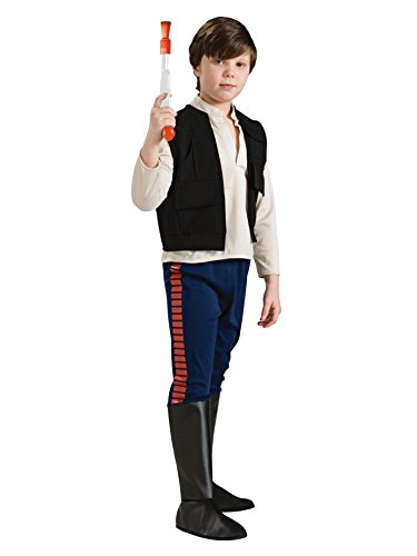 コスプレ衣装 コスチューム スターウォーズ メンズ・レディース・キッズ 883163_M Rubie's Star Wars Classic Child's Deluxe Han Solo Costume, Mediumコスプレ衣装 コスチューム スターウォーズ メンズ・レディース・キッズ 883163_M