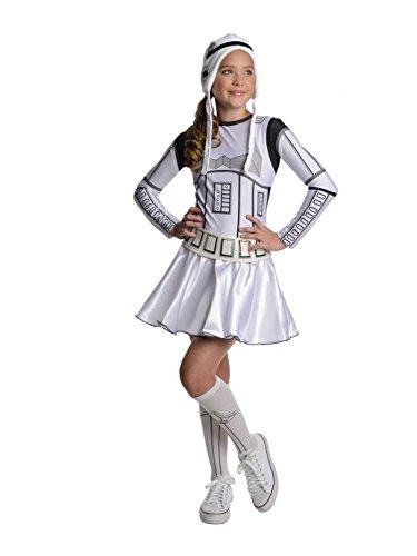 コスプレ衣装 コスチューム スターウォーズ メンズ・レディース・キッズ 886386TS 【送料無料】Star Wars Storm Trooper Tween Costume Dress, Smallコスプレ衣装 コスチューム スターウォーズ メンズ・レディース・キッズ 886386TS