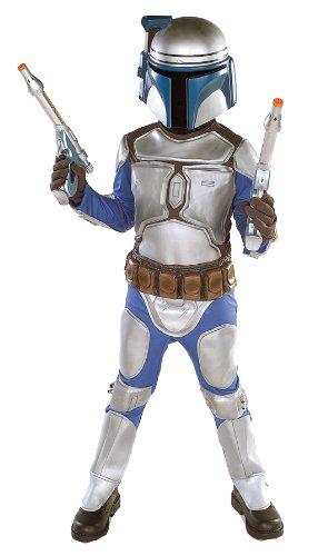 コスプレ衣装 コスチューム スターウォーズ メンズ・レディース・キッズ 10732M Star Wars Jango Fett Deluxe Child Costume (Medium)コスプレ衣装 コスチューム スターウォーズ メンズ・レディース・キッズ 10732M
