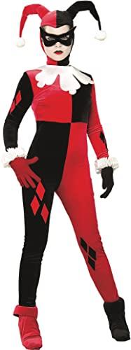 コスプレ衣装 コスチューム その他 888102 【送料無料】Rubie's Women's DC Heroes and Villains Collection Harley Quinn Costume, Red/Black, X-Smallコスプレ衣装 コスチューム その他 888102