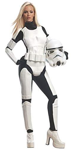 コスプレ衣装 コスチューム スターウォーズ メンズ・レディース・キッズ 887464M 【送料無料】Rubie's Star Wars Female Stormtrooper, White/Black, Mediumコスプレ衣装 コスチューム スターウォーズ メンズ・レディース・キッズ 887464M