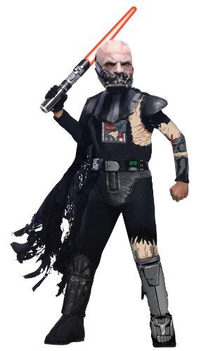 コスプレ衣装 コスチューム スターウォーズ メンズ・レディース・キッズ 881185L Star Wars Child's Deluxe Darth Vader with Battle Damage Costume, Largeコスプレ衣装 コスチューム スターウォーズ メンズ・レディース・キッズ 881185L