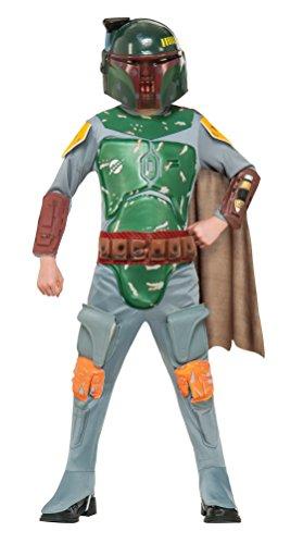 コスプレ衣装 コスチューム スターウォーズ メンズ・レディース・キッズ 883037L 【送料無料】Star Wars Boba Fett Deluxe Child Costume (Large)コスプレ衣装 コスチューム スターウォーズ メンズ・レディース・キッズ 883037L