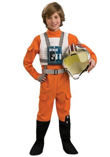 コスプレ衣装 コスチューム スターウォーズ メンズ・レディース・キッズ Star Wars X-Wing Pilot Child Costume Size 4-6 Smallコスプレ衣装 コスチューム スターウォーズ メンズ・レディース・キッズ
