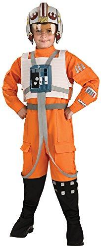 コスプレ衣装 コスチューム スターウォーズ メンズ・レディース・キッズ 883164L 【送料無料】Rubies Star Wars Classic Child's Deluxe X-Wing Pilot Costume, Largeコスプレ衣装 コスチューム スターウォーズ メンズ・レディース・キッズ 883164L