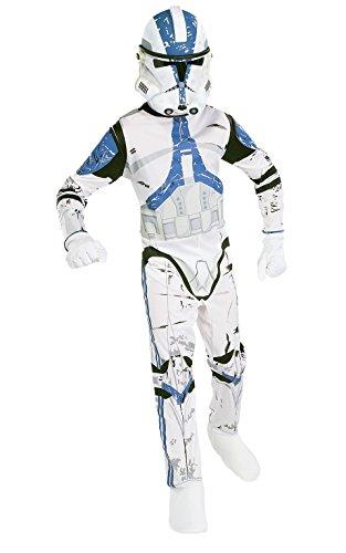 コスプレ衣装 コスチューム スターウォーズ メンズ・レディース・キッズ 882010L Star Wars Child's Clone Trooper Costume, Largeコスプレ衣装 コスチューム スターウォーズ メンズ・レディース・キッズ 882010L