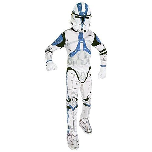 コスプレ衣装 コスチューム スターウォーズ メンズ・レディース・キッズ 【送料無料】Clone Trooper Kids Costume - Largeコスプレ衣装 コスチューム スターウォーズ メンズ・レディース・キッズ