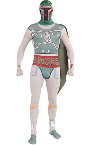 コスプレ衣装 コスチューム スターウォーズ メンズ・レディース・キッズ 880979L Rubie's Costume Star Wars Boba Fett 2nd Skin Full Body Suit, Multicolor, Large Costumeコスプレ衣装 コスチューム スターウォーズ メンズ・レディース・キッズ 880979L