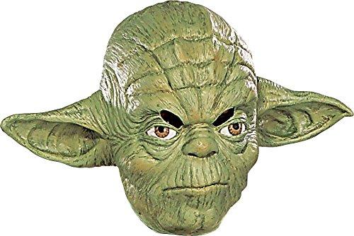 コスプレ衣装 コスチューム スターウォーズ メンズ・レディース・キッズ RUB3477MSK Rubie's Costume Co Yoda 3/4 Vinyl Mask-Child Costumeコスプレ衣装 コスチューム スターウォーズ メンズ・レディース・キッズ RUB3477MSK