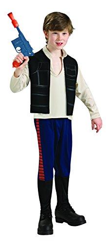 コスプレ衣装 コスチューム スターウォーズ メンズ・レディース・キッズ 883160_M Rubie's Star Wars Classic Child's Han Solo Costume, Mediumコスプレ衣装 コスチューム スターウォーズ メンズ・レディース・キッズ 883160_M
