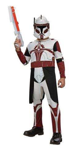 コスプレ衣装 コスチューム スターウォーズ メンズ・レディース・キッズ 883562S Rubies Star Wars Clone Wars Child's Clone Trooper Commander Fox Costume and Mask, Smallコスプレ衣装 コスチューム スターウォーズ メンズ・レディース・キッズ 883562S