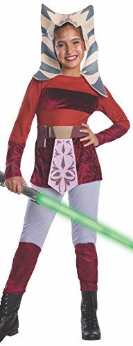 コスプレ衣装 コスチューム スターウォーズ メンズ・レディース・キッズ 883198M Star Wars Clone Wars Child's Ahsoka Costume, Mediumコスプレ衣装 コスチューム スターウォーズ メンズ・レディース・キッズ 883198M