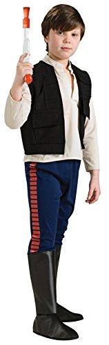 コスプレ衣装 コスチューム スターウォーズ メンズ・レディース・キッズ 883163_S Rubie's Star Wars Classic Child's Deluxe Han Solo Costume, Smallコスプレ衣装 コスチューム スターウォーズ メンズ・レディース・キッズ 883163_S