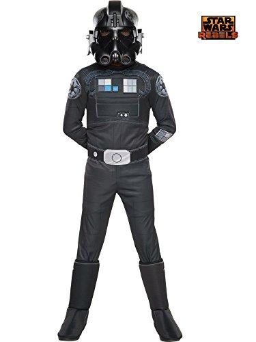 コスプレ衣装 コスチューム スターウォーズ メンズ・レディース・キッズ 610604_S Rubie's Star Wars Rebels Tie Fighter Pilot Deluxe Child Costume, Smallコスプレ衣装 コスチューム スターウォーズ メンズ・レディース・キッズ 610604_S