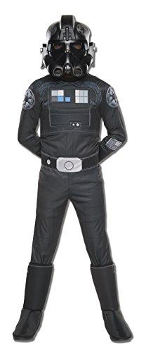 コスプレ衣装 コスチューム スターウォーズ メンズ・レディース・キッズ 610604_M 【送料無料】Rubie's Star Wars Rebels Tie Fighter Pilot Deluxe Child Costume, Mediumコスプレ衣装 コスチューム スターウォーズ メンズ・レディース・キッズ 610604_M