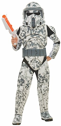 コスプレ衣装 コスチューム スターウォーズ メンズ・レディース・キッズ 883991 【送料無料】Rubies Star Wars Clone Wars Child's Deluxe Arf Trooper Costume and Mask, Smallコスプレ衣装 コスチューム スターウォーズ メンズ・レディース・キッズ 883991