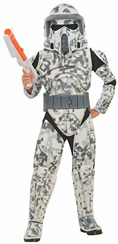 コスプレ衣装 コスチューム スターウォーズ メンズ・レディース・キッズ 883991 【送料無料】Rubies Star Wars Clone Wars Child's Deluxe Arf Trooper Costume and Mask, Largeコスプレ衣装 コスチューム スターウォーズ メンズ・レディース・キッズ 883991