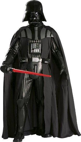 コスプレ衣装 コスチューム スターウォーズ メンズ・レディース・キッズ 909877XL 【送料無料】Rubie's Adult Star Wars Supreme Edition Darth Vader, Black, X-Largeコスプレ衣装 コスチューム スターウォーズ メンズ・レディース・キッズ 909877XL