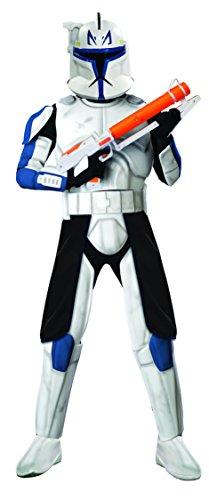 コスプレ衣装 コスチューム スターウォーズ メンズ・レディース・キッズ 888801 Rubie's Star Wars The Clone Clonetrooper Captain Rex, Multicolored, One Size Costumeコスプレ衣装 コスチューム スターウォーズ メンズ・レディース・キッズ 888801