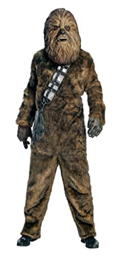 コスプレ衣装 コスチューム スターウォーズ メンズ・レディース・キッズ 56107XL Star Wars Chewbacca Deluxe Faux Fur Full Mask Costumeコスプレ衣装 コスチューム スターウォーズ メンズ・レディース・キッズ 56107XL