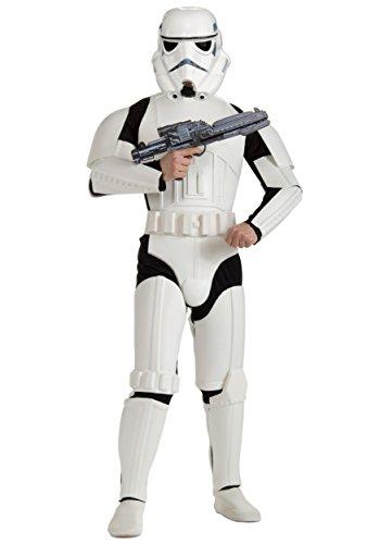 コスプレ衣装 コスチューム スターウォーズ メンズ・レディース・キッズ Adult Deluxe Plus Size Stormtrooper Costume XLコスプレ衣装 コスチューム スターウォーズ メンズ・レディース・キッズ