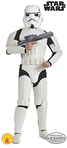 コスプレ衣装 コスチューム スターウォーズ メンズ・レディース・キッズ 888572XL 【送料無料】Star Wars Stormtrooper Deluxe Adult Costume, X-Largeコスプレ衣装 コスチューム スターウォーズ メンズ・レディース・キッズ 888572XL