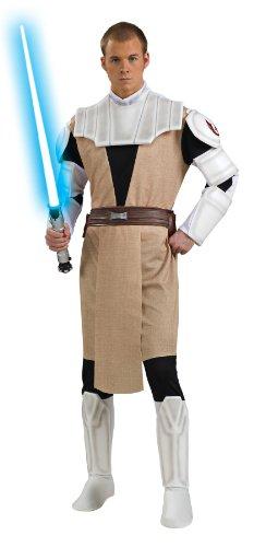 コスプレ衣装 コスチューム スターウォーズ メンズ・レディース・キッズ 888797STD 【送料無料】Rubie's Men's Star Wars Clone Deluxe Adult Obi-Wan Kenobi, Multicolor, Standコスプレ衣装 コスチューム スターウォーズ メンズ・レディース・キッズ 888797STD