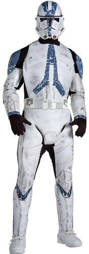 コスプレ衣装 コスチューム スターウォーズ メンズ・レディース・キッズ 56078XL 【送料無料】Star Wars Clone Trooper Deluxe Adult Costumeコスプレ衣装 コスチューム スターウォーズ メンズ・レディース・キッズ 56078XL